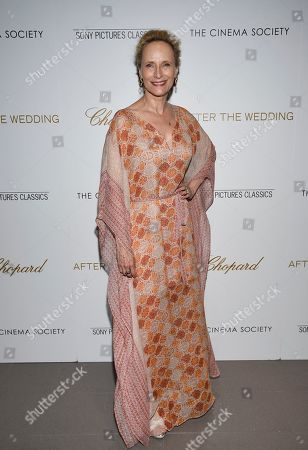"""Laila Robins attends a special screening of """"After the Wedding"""", hosted by Chopard with Sony Pictures Classics and The Cinema Society, at the Regal Essex, in New York"""