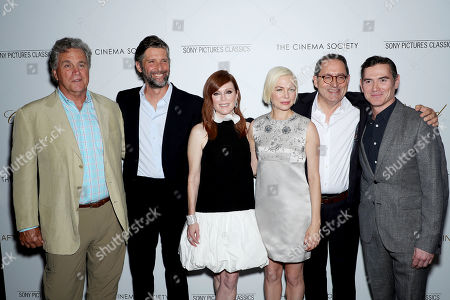 Tom Bernard, Bart Freundlich, Julianne Moore, Michelle Williams, Michael Barker and Billy Crudup