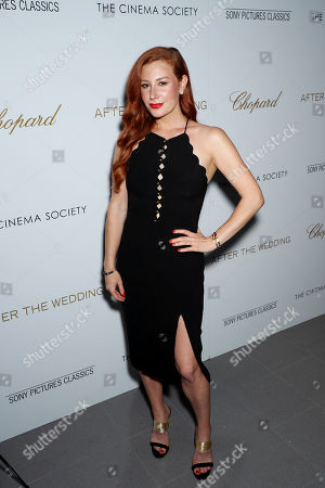 Editorial image of Chopard & The Cinema Society host a Screening of Sony Pictures Classics 'After The Wedding', New York, USA - 06 Aug 2019