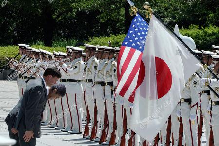 Editorial image of US Secretary of Defense Mark Esper visits Japan, Tokyo - 07 Aug 2019