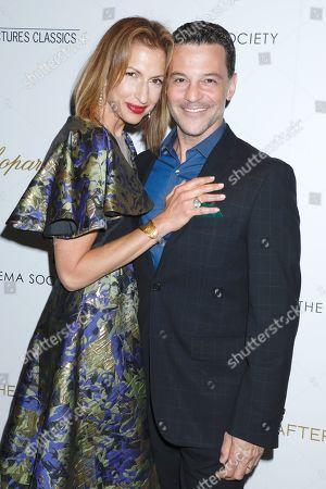 Stock Photo of Alysia Reiner and David Alan Basche
