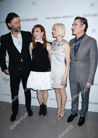 Bart Freundlich, Julianne Moore, Michelle Williams and Billy Crudup