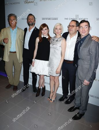 Tom Bernard, Bart Freundlich, Julianne Moore, Michelle Williams, Nadeem Baig and Billy Crudup