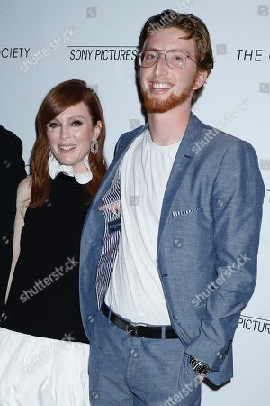 Stock Image of Julianne Moore and Cal Freundlich