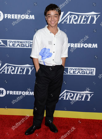 Editorial photo of Variety Power of Young Hollywood presented by Freeform, arrivals, Los Angeles, USA - 06 Aug 2019