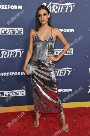 Madeleine Madden attends the 2019 Variety Power of Young Hollywood event at h club LA, in Los Angeles