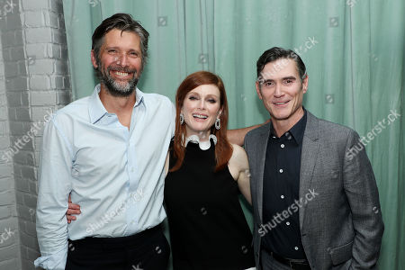 Bart Freundlich (Director), Julianne Moore and Billy Crudup