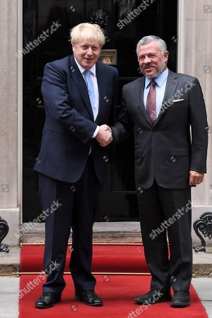 King Abdullah II of Jordan visit to London