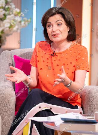 Editorial image of 'Lorraine' TV show, London, UK - 07 Aug 2019