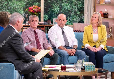 Richard Clarkson and Ian Pedrick with Sarah Wollaston