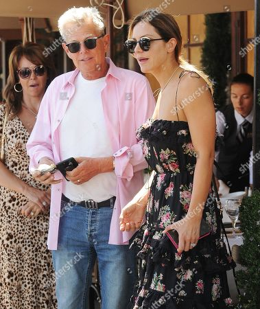 Stock Photo of Katharine McPhee and David Foster