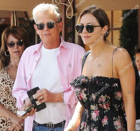 Stock Image of Katharine McPhee and David Foster