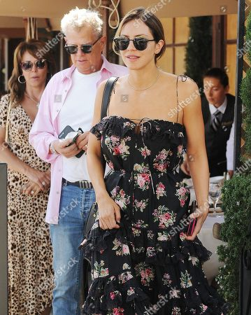 Editorial picture of Katherine McPhee and David Foster out and about, Los Angeles, USA - 06 Aug 2019