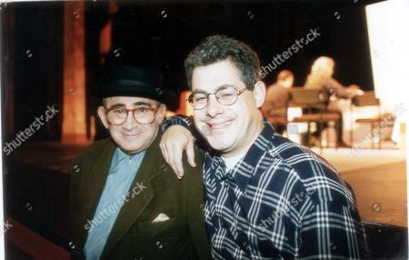 Lionel Bart And Sir Cameron Mackintosh At A Casting For Oliver!. Pkt4072-301560
