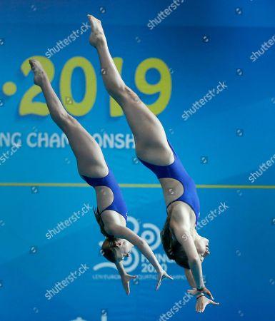 Editorial picture of European Diving Championships, Kiev, Ukraine - 07 Aug 2019