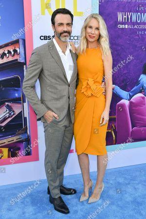 Stock Photo of Reid Scott and Elspeth Keller