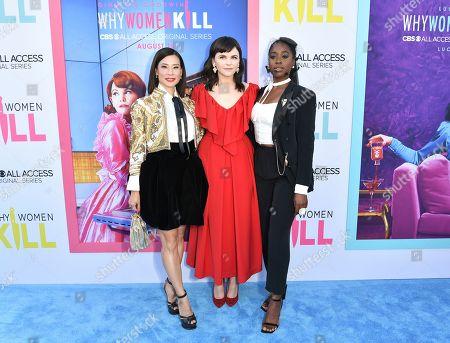 Lucy Liu, Ginnifer Goodwin and Kirby Howell-Baptiste