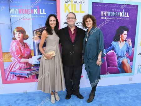 Francie Calfo, Marc Cherry and Mindy Schultheis