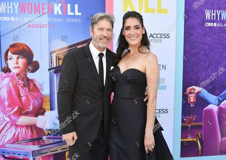 Anthony Michael Jones and Alicia Coppola