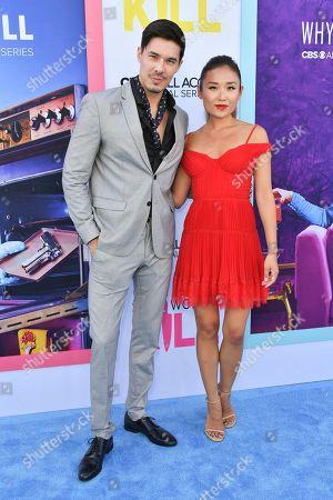Stock Image of Lewis Tan and Li Jun Li