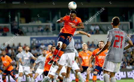 Istanbul Basaksehir?s Robinho in action during the UEFA Champions League third qualifying round 1st leg soccer match between Porto and Krasnodar in Krasnodar, Russia, 07 August 2019.