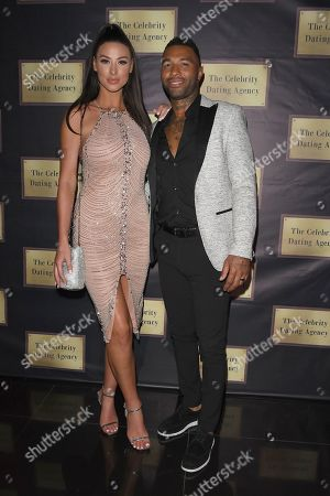 Jermaine Pennant and Alice Goodwin