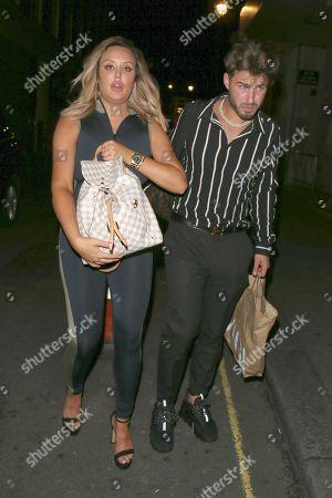 Charlotte Crosby and Joshua Ritchie