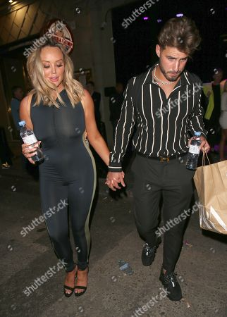 Charlotte Crosby and Joshua Ritchie