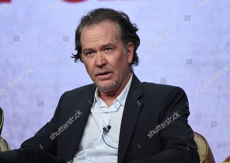 "Timothy Hutton participates in Fox's ""Almost Family"" panel at the Television Critics Association Summer Press Tour, in Beverly Hills, Calif"