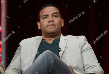 """Stock Photo of Frank Harts participates in Fox's """"Prodigal Son"""" panel at the Television Critics Association Summer Press Tour, in Beverly Hills, Calif"""