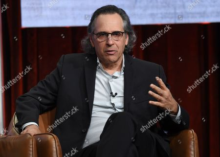 """Jason Katims participate in Fox's """"Almost Family"""" panel at the Television Critics Association Summer Press Tour, in Beverly Hills, Calif"""