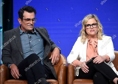 Ty Burrell and Amy Poehler
