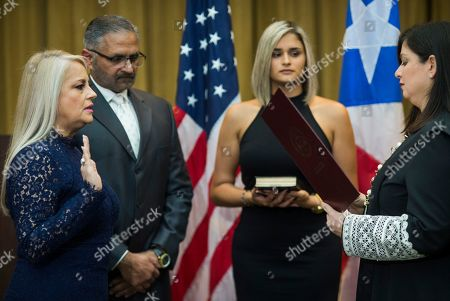 Editorial picture of Governor, San Juan, Puerto Rico - 07 Aug 2019