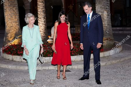 Spanish Royal Family reception at Almudaina Palace, Palma