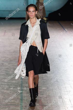 Editorial image of Holzweiler show, Runway, Spring Summer 2020, Copenhagen Fashion Week, Denmark - 07 Aug 2019