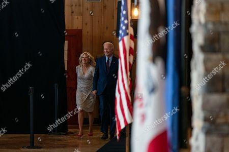 Joe Biden, and his wife Jill Biden