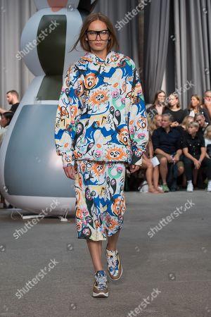 Editorial picture of Munthe show, Runway, Spring Summer 2020, Copenhagen Fashion Week, Denmark - 07 Aug 2019