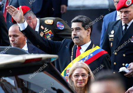Editorial photo of Political Crisis, Caracas, Venezuela - 07 Aug 2019