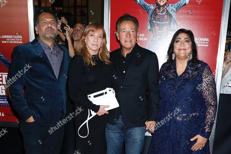Stock Picture of Sarfraz Manzoor, Patti Scialfa, Bruce Springsteen, Gurinder Chadha