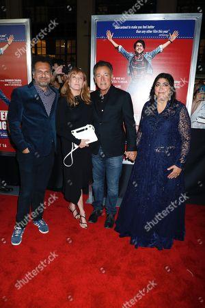 Sarfraz Manzoor, Patti Scialfa, Bruce Springsteen, Gurinder Chadha