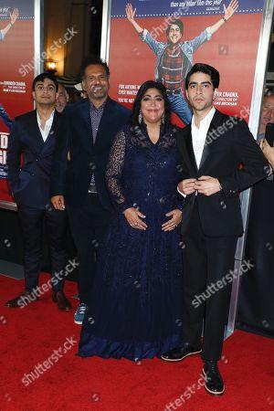 Aaron Phagura, Sarfraz Manzoor, Gurinder Chadha, director and Viveik Kaira