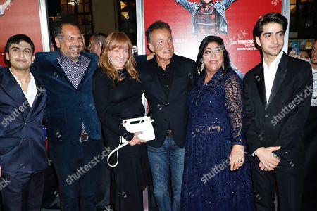 Aaron Phagura, Sarfraz Manzoor, Patti Scialfa, Bruce Springsteen, Gurinder Chadha and Viveik Kaira