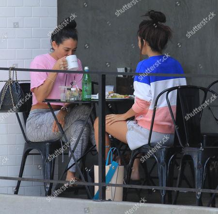 Natalie Martinez and Sibylla Deen at Joan's on Third