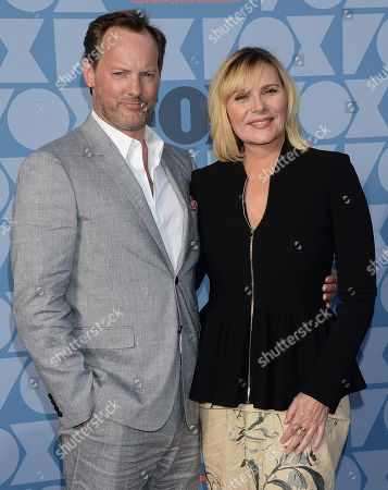 Russell Thomas and Kim Cattrall