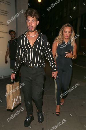 Editorial photo of Celebrities at Libertine nightclub, London, UK - 07 Aug 2019