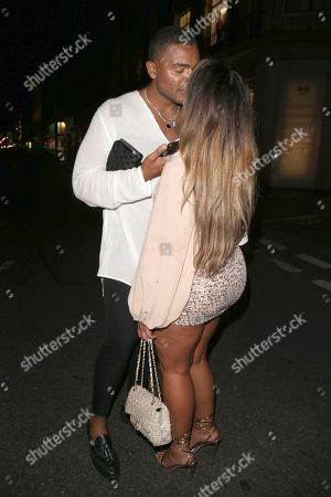 Nathan Henry and Lauren Goodger