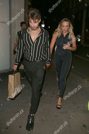 Joshua Ritchie and Charlotte Crosby