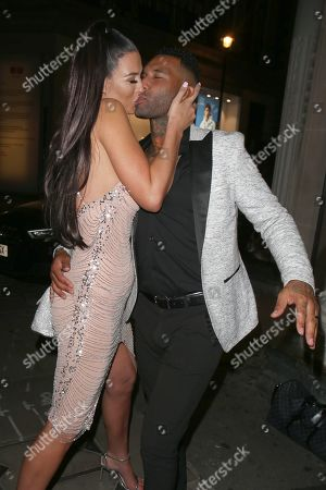 Stock Picture of Alice Goodwin and Jermaine Pennant