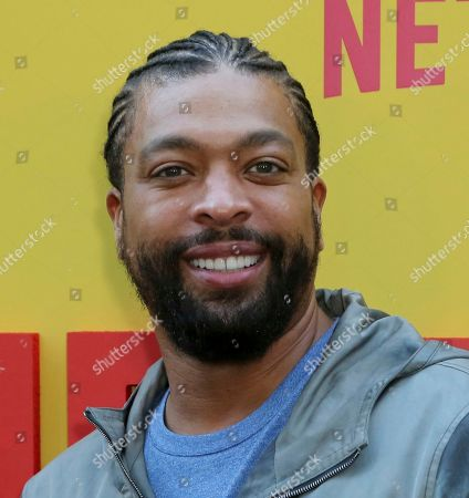 """DeRay Davis attends the LA Premiere of """"Sextuplets"""" at the Arclight Hollywood, in Los Angeles"""