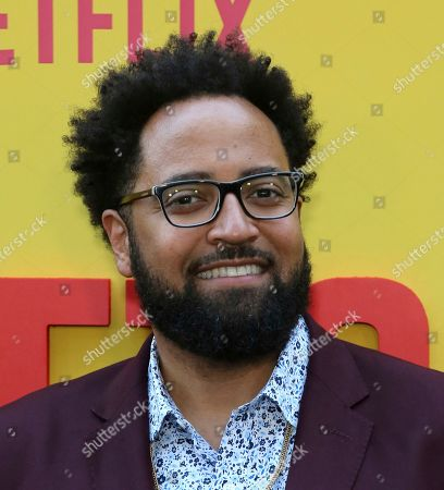 """Stock Image of Diallo Riddle attends the LA Premiere of """"Sextuplets"""" at the Arclight Hollywood, in Los Angeles"""